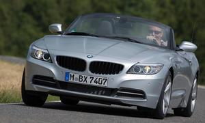 Bilder BMW Z4 sDrive18i 2013 Roadster Cabrio Vergleichstest