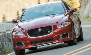 Bilder Jaguar XJR 2013 Fahrbericht Front