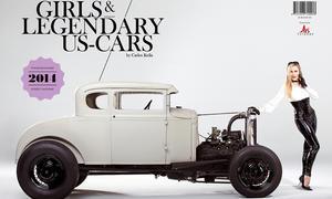 Girls and legendary US Cars 2014 Kalender Erotik Carlos Kella