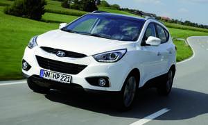 Hyundai ix35 2013 IAA Facelift Preis Bilder SUV Verkaufszahlen