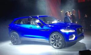 Jaguar C-X17 Concept Studie IAA 2013 SUV Geländewagen Plattform Crossover