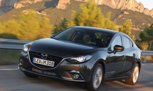 Mazda 3 Limousine 2014 Preis Markteinführung Bilder
