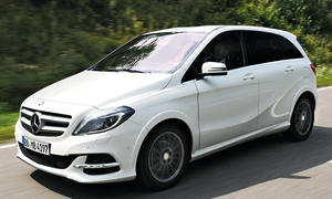 Mercedes B-Klasse Electric Drive Bilder Fahrbericht