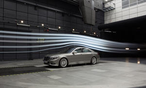 Daimler Aeroakustik-Windkanal Stuttgart Entwicklung Investition Mercedes Aerodynamik
