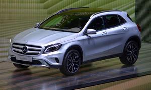 Mercedes GLA Preis 200 CDI 250 4Matic IAA 2013