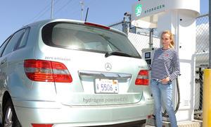 Mercedes Wasserstoff-Tankstellen Netz Ausbau Brennstoffzelle F-Cell Deutschland