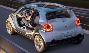 Smart Fourjoy Concept Studie IAA 2013 Forfour 2014 Viersitzer Kleinwagen