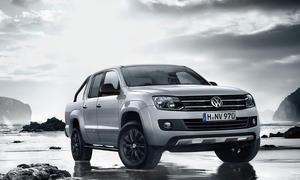 VW Amarok Dark Label 2014 Sonderedition Front