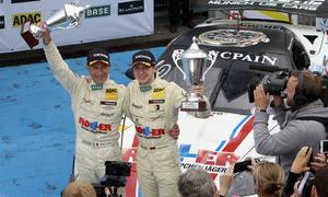 Diego Alessi und Daniel Keilwitz gewinnen das ADAC GT Masters 2013 in ihrer Corvette GT3