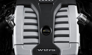 Audi A8 W12 2013 Cylinder on Demand V12 Facelift