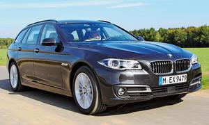 BMW 518d Touring Einzeltest Bilder technische Daten