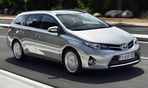 Bilder 2013 Toyota Auris Touring Sports 1.6 Valvematic Kompaktklasse Einzeltest