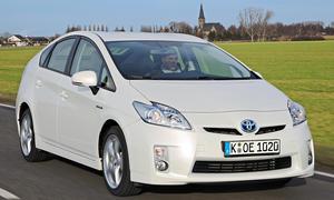 Bilder Toyota Prius Kompaktklasse günstige Gebrauchte 2013