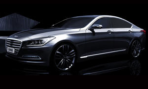 Hyundai Genesis Detroit Auto Show 2014 Limousine Bilder