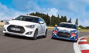 Hyundai Veloster 1.6 Turbo Rennversion Vergleich Bilder technische Daten