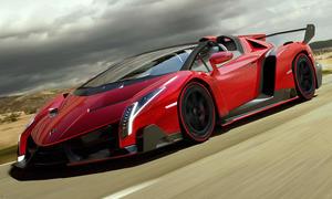 Lamborghini Veneno Roadster 2014 Preis Serie Rot