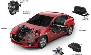Mazda 3 CNG 2013 Tokyo Motor Show Erdgas Mazda3 Hybrid