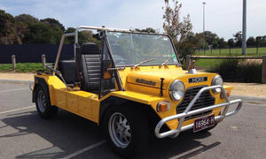 Mini Moke International Strandauto Neuauflage 2013