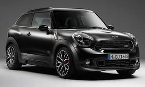Mini Paceman Frozen Black Schwarz matt Countryman