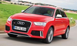 Bilder Audi RS Q3 Einzeltest Test Kompakt-SUV