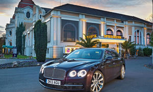 Bilder Bentley New Flying Spur Einzeltest Test Luxusklasse Limousine