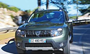 Bilder Dacia Duster TCe 125 4x2 2013 Fahrbericht Facelift