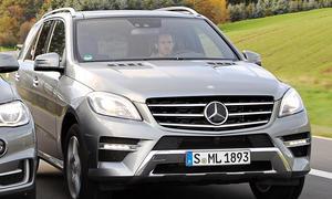 Bilder Mercedes ML 350 BlueTEC 4MATIC Oberklasse-SUV Komfort