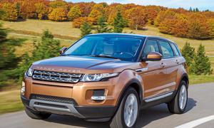 Bilder Range Rover Evoque 2.2 SD4 2013 Kompakt-SUV Fahrbericht