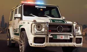 Brabus B63S 700 Dubai Police Mercerdes G Klasse Tune it safe Tuning