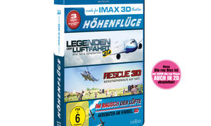 Gewinnpspiel IMAX Höhenflüge 3D Blu-Ray Box