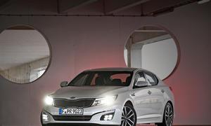 Kia Optima Facelift 2013 Preis Mittelklasse Limousine Neuerungen