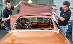 Opel Manta Oldtimer Vinyldach Erneuerung Ratgeber Bilder
