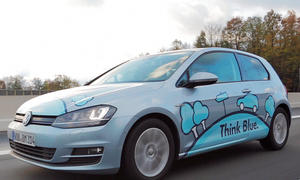 VW Golf TDI BlueMotion 2013 Verbrauchsrekord 3 Liter Diesel
