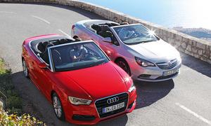 Bilder Audi A3 Cabriolet 1.8 TFSI Opel Cascada 1.6 Ecotec Turbo Vergleich