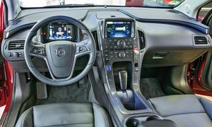 Bilder Opel Ampera Elektroauto Vergleichstest Bedienung