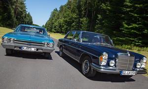 Chevrolet Chevelle Mercedes 300 SEL 3.5 Bilder technische Daten Vergleich