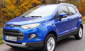Ford EcoSport 1.0 EcoBoost Fahrbericht Bilder technische Daten