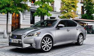 Lexus GS 300h 2014 Preis Mittelklasse Limousine Bilder Hybridantrieb