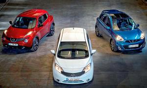 Nissan Juke, Note und Micra 2013: Starkes Kleinwagen-Trio