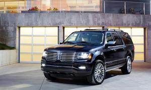 2015 Lincoln Navigator Facelift Chicago Auto Show 2014 Full-Size-SUV Geländewagen