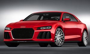 Audi Sport Quattro Laserlight CES 2014 Laser Licht Scheinwerfer