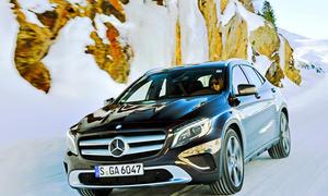 Bilder Mercedes GLA 220 CDI 4MATIC Kompakt-SUV Allrad
