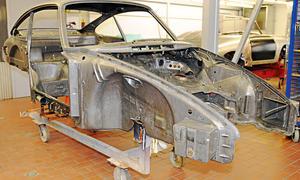 Ratgeber Oldtimer Rost Restaurierung Bilder Technik 911