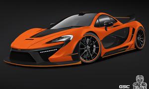 German Special Customs GSC McLaren P1 Hybrid Tuning Bodykit