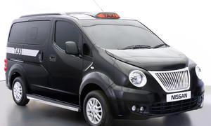 London Taxi 2014 Nissan NV200 Black Cab