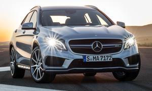 Mercedes GLA 45 AMG 2014 Detroit Auto Show Performance SUV Sport GLA-Klasse