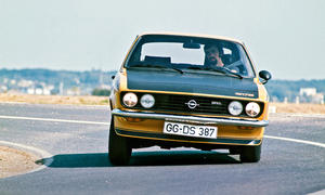 Opel Manta GT/E Bilder Oldtimer