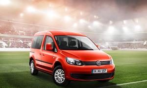VW Caddy Soccer 2014 Fussball-WM Brasilien Preis Prämie
