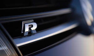 VW Golf R Logo 2014 Allrad Kompaktsportler Neuheiten