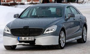 2014 Mercedes CLS Shooting Brake Facelift Erlkoenig Modellpflege Kombi